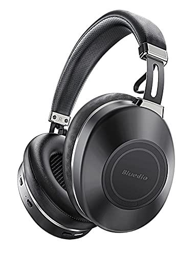 Bluetooth Koptelefoon Over Ear, Bluedio H2 Actieve Ruisonderdrukkende Koptelefoon met Microfoon, Schuifaanraakbediening…