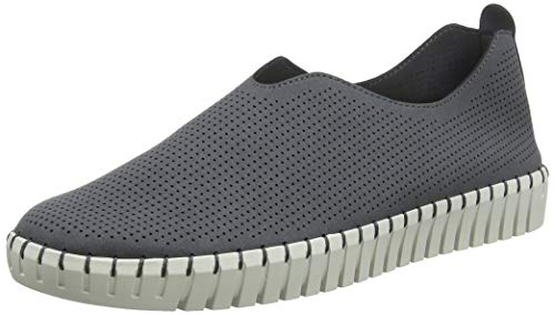 Skechers Sepulveda BLVD Simple Route Womens Slip On Sneakers Charcoal 11