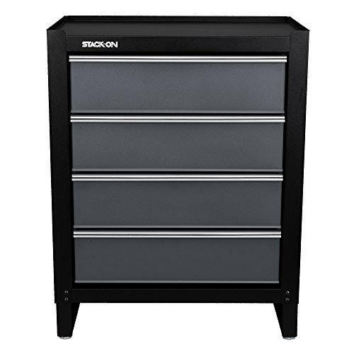 UPC 085529170519, Stack-On AGS-PC-4DR Modular all-steel Assembled Garage Storage 4-Drawer Project Center