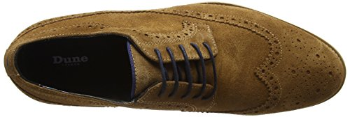 Dune Herren Brooking Brogues Brown (Tan-Suede)