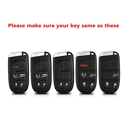 SEGADEN TPU Soft Case Shell Cover Protector Holder fit for CADILLAC Smart Remote Key Fob 3 4 5 6 Button SV7770 Red