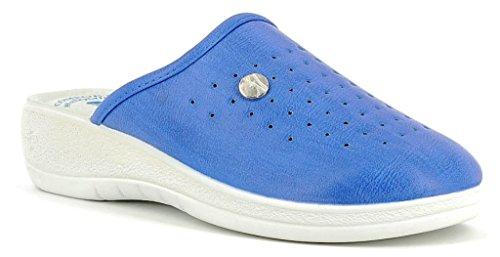 INBLU , Damen Hausschuhe blau denim 38