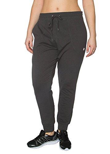 RBX Active Plus Size Full Length Cotton Jogger Pant