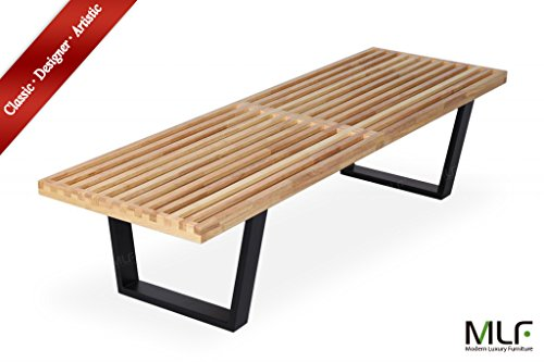 MLF Nelson Platform Bench (3 Sizes). Rubber Hardwood Top ...