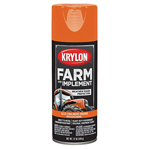 Krylon Metal Pens - Krylon K01940000 Allis Chalmers Orange Farm and Implement Paint - 12 oz. Aerosol