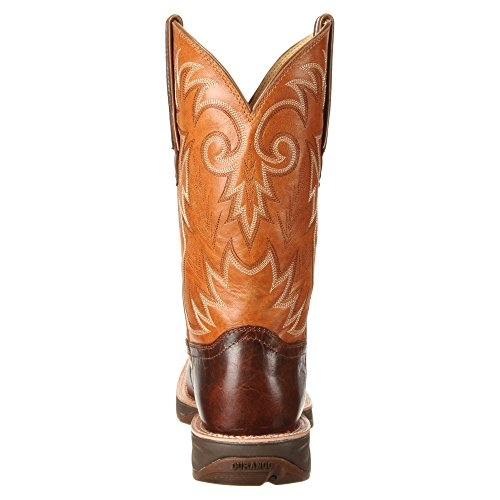 Boot Ramped 12 Brown Tan inch Distressed Durango Riding Men's Rebel up TCwt0Zq
