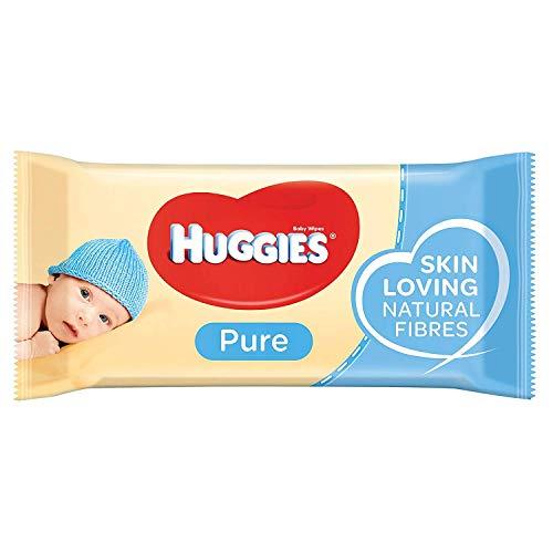🥇 Huggies Pure Toallitas para Bebé – 18 Paquetes