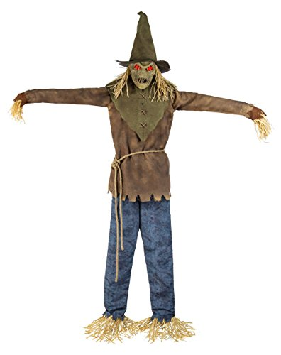 6 Ft Looming Strawman Animatronics - Decorations -