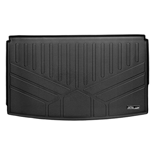 (SMARTLINER All Weather Cargo Liner Floor Mat Behind 3rd Row Black for 2018 Ford Expedition Max)