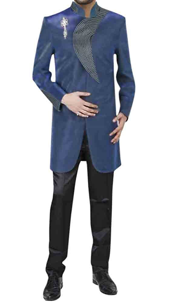 add426e878f5 Royalblueee INMONARCH Mens Mens Mens Different Styles Royal blueee Indo  Western IN181 16c069