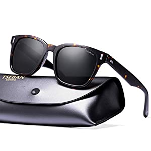Polarized Sunglasses For Men - T.SEBAN Vintage Men's Sunglasses with UV400 Protection for Outdoor Driving