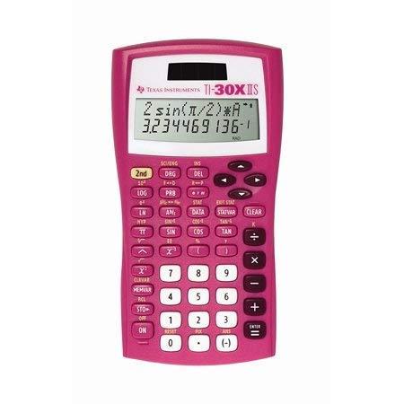 Texas Instruments TI-30X IIS Scientific Calculator, Pink by Texas Instruments