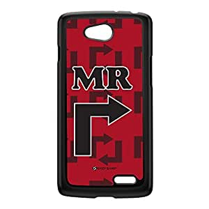 Sassy - Mr Right 10029 Black Hard Plastic Case for LG L90 by Sassy Slang + FREE Crystal Clear Screen Protector