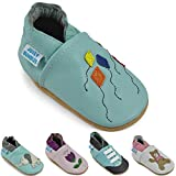 Soft Leather Baby Shoes - Toddler Shoes with