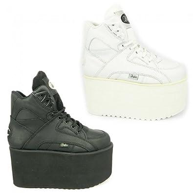 new arrival d8806 2d393 Buffalo 1300-10, Damen Sneaker, Schwarz - schwarz - Größe ...