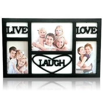 Buy Live Laugh Love Black Frame Collage Frames Online At Low