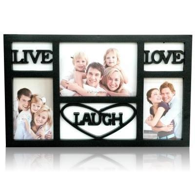 Buy LIVE LAUGH LOVE Black Frame : Collage Frames Online at Low ...