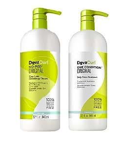 DevaCurl Original DUO - One Condition 32oz + No-Poo 32oz