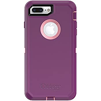 OtterBox DEFENDER SERIES Case for  iPhone 8 Plus & iPhone 7 Plus (ONLY) - Frustration Free Packaging - VINYASA (ROSMARINE/PLUM HAZE)