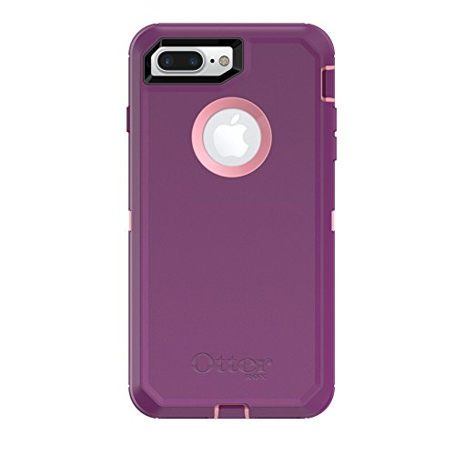 Otterbox Defender Case (OtterBox DEFENDER SERIES Case for  iPhone 8 Plus & iPhone 7 Plus (ONLY) - Frustration Free Packaging - VINYASA (ROSMARINE/PLUM HAZE))
