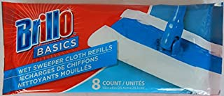 product image for Brillo Basics Wet Sweeper Cloth Refills 8-Count (Pack of 3)