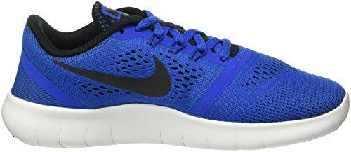 Nike Jungen Free RN (GS) Trainingsschuhe, Blau Blau (401 GAME ROYAL/BLACK-WHITE)