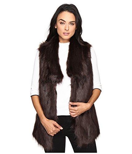 感覚類人猿脱走[ヴィアスピガ] レディース コート Faux Fur Fox Vest [並行輸入品]