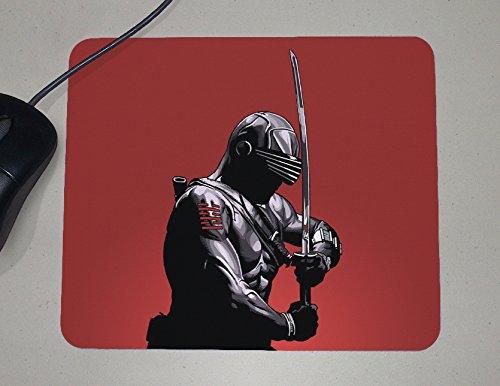 Snake Eyes - Ninja Sword - GI Joe The Rise of Cobra - Novelty Gift - Custom Name Mouse Pad