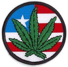 Matt Stewart for NSI - Retro AMERICAN POT LEAF FLAG - 3