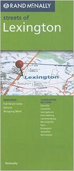 ''VERIFIED'' Rand McNally Streets Of Lexington, Kentucky. Elliott Santa Thrivent luego These Georgia banda