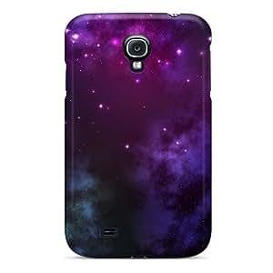 NikRun Galaxy S4 Hybrid Tpu Case Cover Silicon Bumper Etoile Nuage