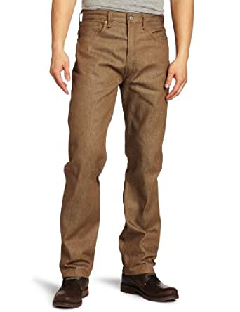 Levi's Men's 501 Shrink To Fit Jean, Toffee, 33x32
