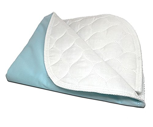 RMS Ultra Soft 4-Layer Washable and Reusable Incontinence Bed Underpads, 34