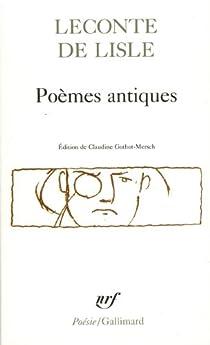 Poèmes antiques par Leconte de Lisle