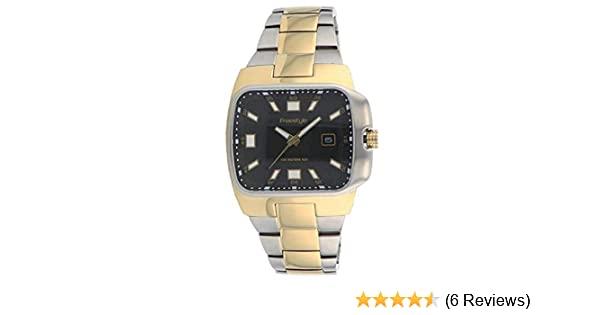 Amazon.com: Freestyle Mens Zephyr 2 Tone Stainless Steel Watch 61809 Dress Watch: Watches