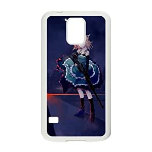 black Bullet 2 plastic funda Samsung Galaxy S5 cell phone case funda white cell phone case funda cover ALILIZHIA12281