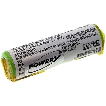 Batería para Afeitadora eléctrica Philips HQ9190 X L, 3,7 V, Li ...