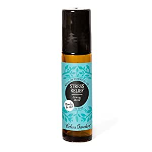 edens garden stress relief 10 ml roll on synergy blend 100 pure undiluted