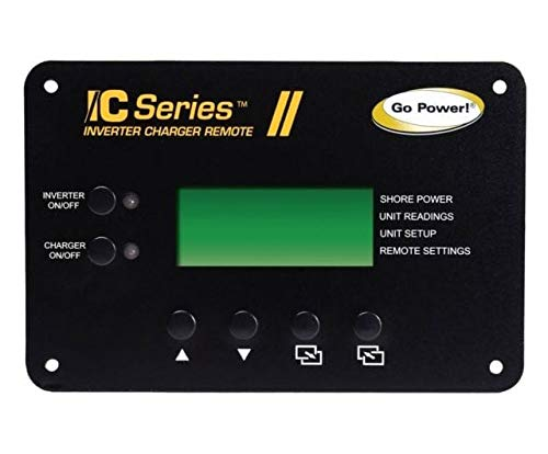 Go Power GP-ICR-50 Inverter Charger Remote 12 Volt