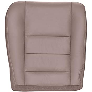 Compatible with 1999-2000 Ford F250 and F350 Super Duty Lariat 40 Portion Seats Medium Graphite Gray The Seat Shop Driver Side Split Bench 40 Portion Bottom Replacement Leather Seat Cover