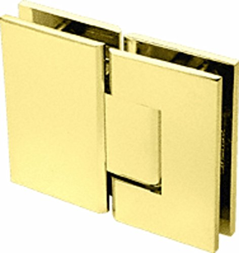 CRL Geneva 580 Series Brass 180186; Glass-To-Glass Hinge with 5186; Offset ()