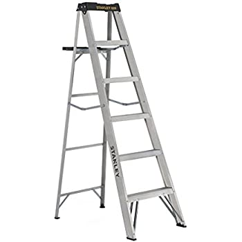 Amazon Com Stanley Sxl2212 06 Aluminum Step Ladder Type