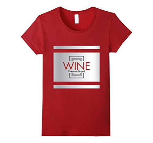 Cute Cheap Costumes Couples (Womens Wine Bottle Cute Cheap Halloween Costume Matching Cheese Tee Large Cranberry)