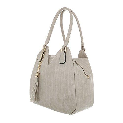 gris à pour Size porter à femme l'épaule Gris Ital clair Sac One Design 7xnOIWz