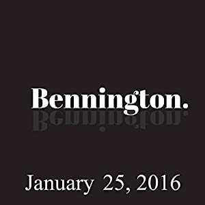 Bennington, Esther Ku, January 25, 2016 Radio/TV Program