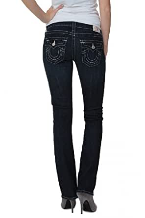 True Religion Straight Leg Jeans BILLY STRAIGHT LE, Color: Dark blue, Size: 28