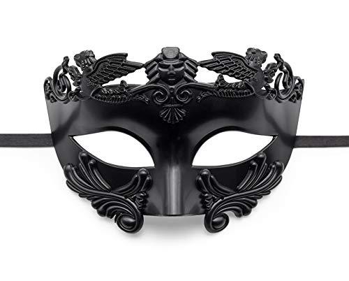 BAWASEEHI Masquerade Mask for Men- Roman Greek Mythological Ventian Mask Halloween Cosplay Mardi Gras (Masquerade Maska)