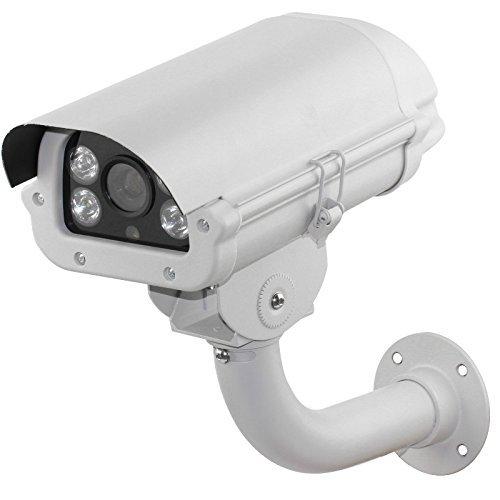 3.0Megpixels Lens 2MP 1080P Vechile License Plate Recognition Camera Megapixel ANPR LPR IP Camera with 5-50mm lens for (Lpr License Plate)