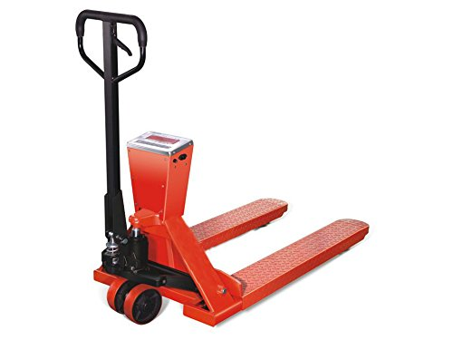 2 Ton Pallet Truck With Weigh Scale, Euro - 2000KG Hand Pump Fork Lift Trolley Jack Push