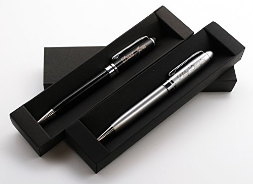 Personalized Premium Metal Pen + Gift Box | Custom Bespoke Laser Engraved ()